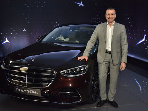 Mercedes-Benz launches its flagship and the most advanced S-Class ever.