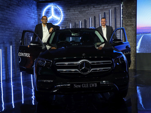Mercedes-Benz India raises the benchmark in the luxury SUV segment with the long wheel base new GLE.