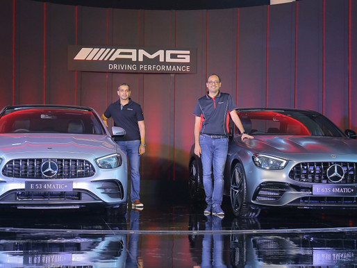 Mercedes-Benz strengthens its AMG portfolio in India; launches AMG E 53 and AMG E 63 S
