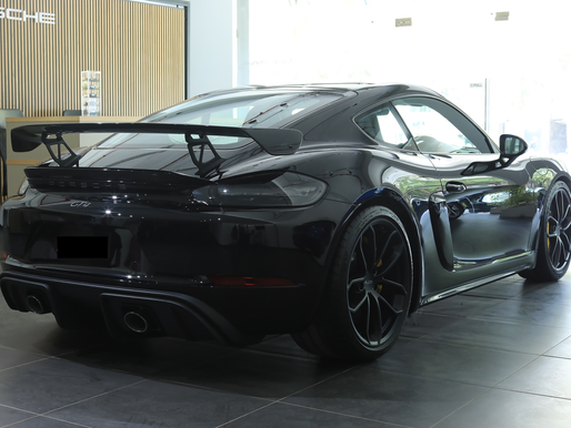 Porsche Centre Mumbai delivers the first 718 Cayman GT4 through its dealership under Infinity Cars.