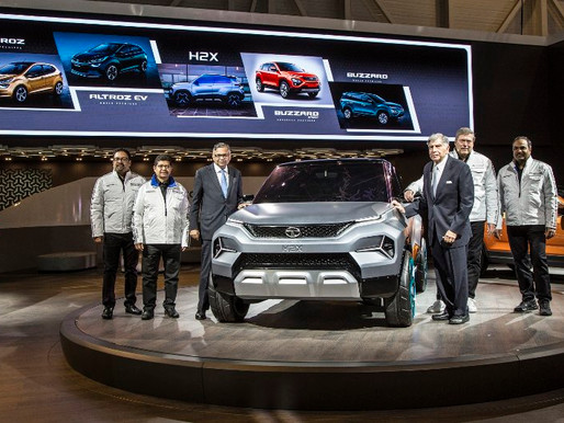 Tata Motors unveils four Global premiers at the 89th Geneva International Motor Show