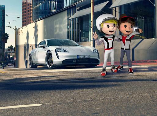 Porsche 4Kids as a welcome distraction!