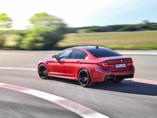 The Uncontested: The BMW M5 Competition launched in India.