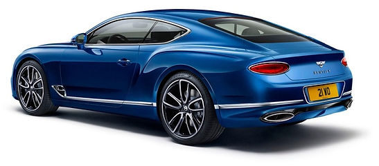 New Continental GT rear three quarter fu