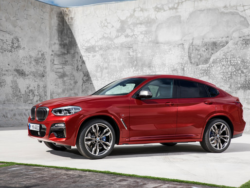 The all-new BMW X4 - Variants