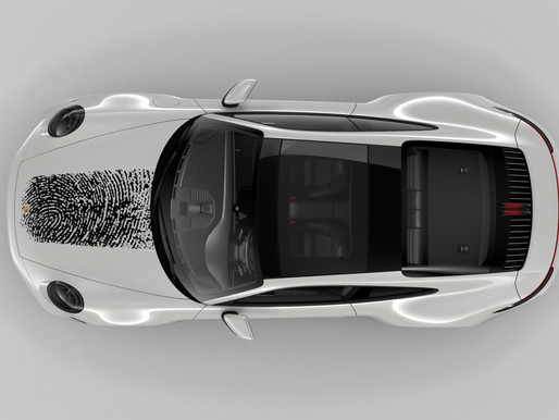 A Porsche as personal as your own fingerprint!