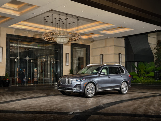 The President: The first-ever BMW X7 launched in India.