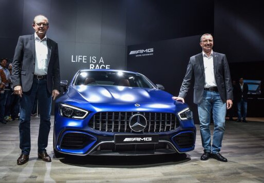 Mercedes-Benz presents a dazzling product and technology showcase at the 15th Auto Expo.