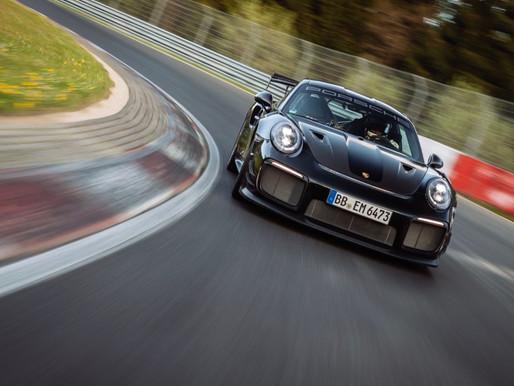 Porsche sets new lap record for fastest road-legal car