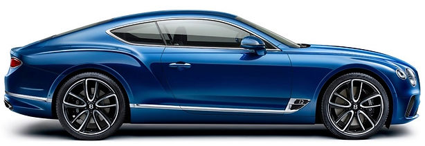 New Continental GT right facing profile