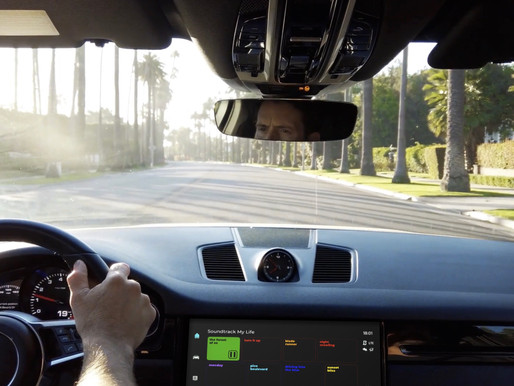 Innovation at Porsche: Soundtrack My Life – every Porsche will soon be making its own music