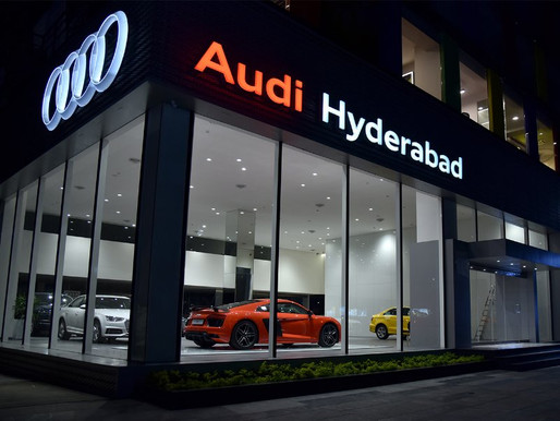 Audi India inaugurates its new state of the art showroom in Hyderabad