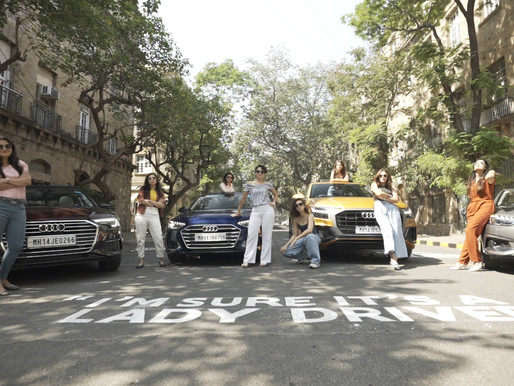 Audi India encourages Women To Drive Over Stereotypes