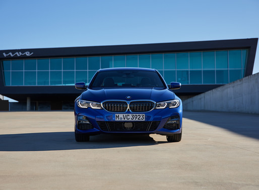 The all-new BMW 3 Series: Built for Thrill. Driven by Tech.