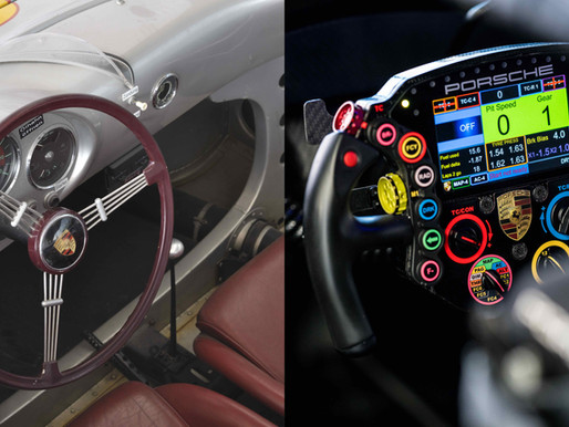 FROM SIMPLE STEERING WHEEL TO MULTIFUNCTIONAL CONTROL CENTRE IN JUST 20 YEARS