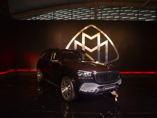 Mercedes-Benz debuts the ultra-luxurious 'Mercedes-Maybach GLS 600 4MATIC' in India