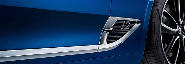 New Continental GT wing vent exterior st