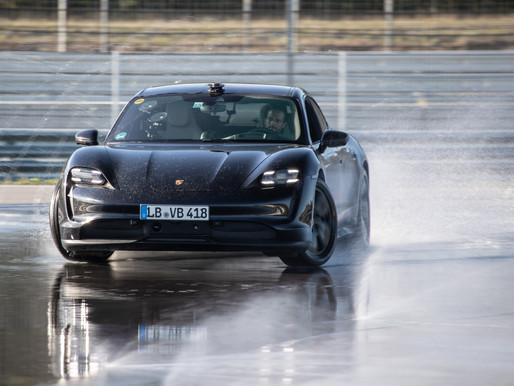 Porsche Taycan drifts into the Guinness World Records™ book