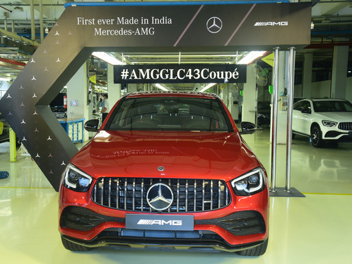 Mercedes-Benz starts the local production of AMG in India; rolls-out the AMG GLC 43 4MATIC Coupé!