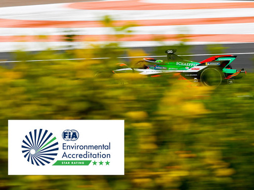 Audi Sport is awarded FIA Three-Star Environmental Accreditation!