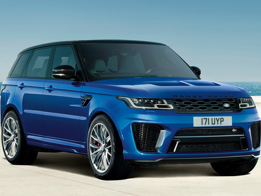RANGE ROVER SPORT SVR INTRODUCED IN INDIA | LUXURY AND PERFORMANCE TAKEN TO NEW HEIGHTS