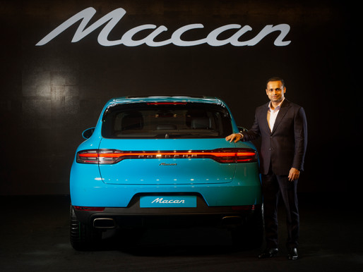 Porsche India welcomes the new Macan starting at ₹ 69.9 lakhs