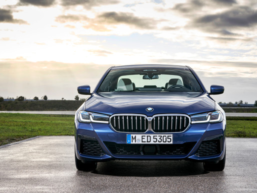 Power. Play. The new BMW 5 Series launched in India.