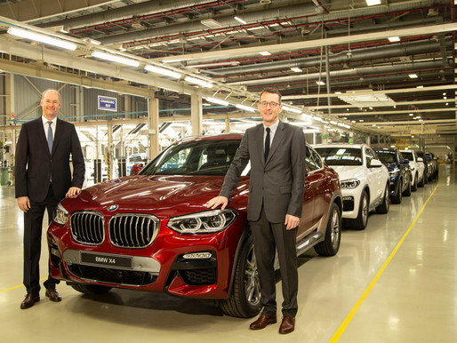 The all-new BMW X4 launched in India.
