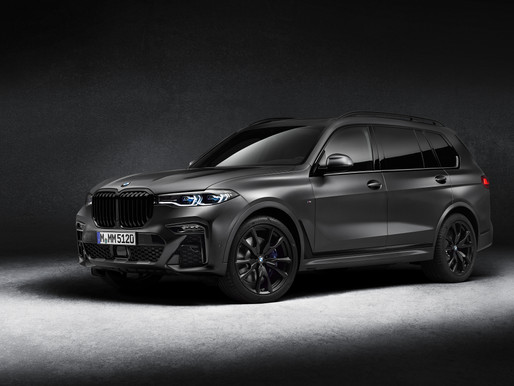 The BMW X7 M50d 'Dark Shadow' Edition launched in India.