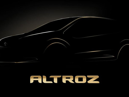 "Tata Motors names its upcoming Premium Urban Car as ""ALTROZ"""