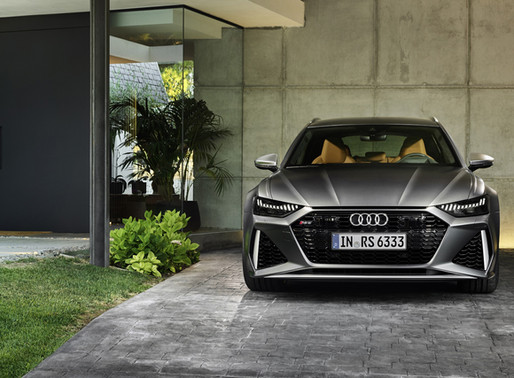 ALL-NEW AUDI RS 6 AVANT UNVEILED FOR AMERICA!!!