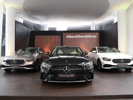 Mercedes-Benz launches the new E-Class: the most dynamic and technology-laden E-Class ever!