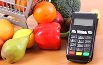 payment-terminal-with-fresh-fruits-and-v