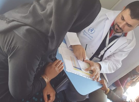 Mobile Medical Clinic in Bahrka IDPs camp