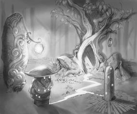 Pixie original sketch