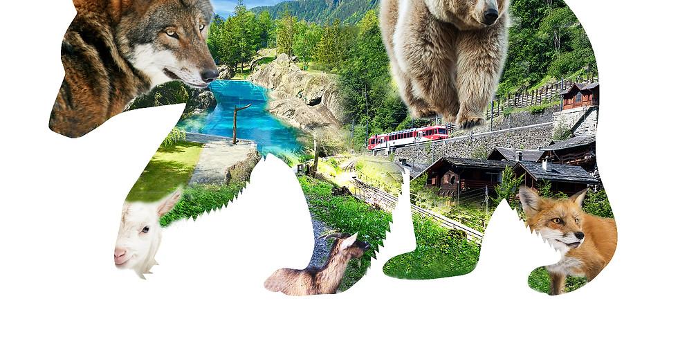 Zoo des Marécottes et Chemin des Diligences