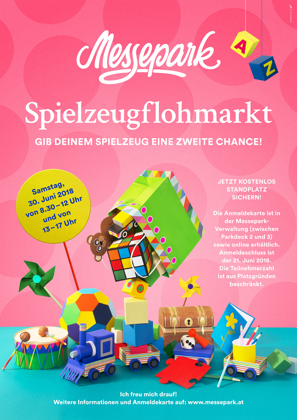 Messepark-Spielzeugflohmarkt