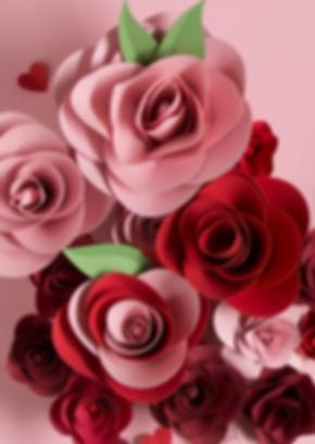 Muttertag , Blumen, rot, Paperart, Papercut, paperwork, papercraft, mvmpapercuts, berlin