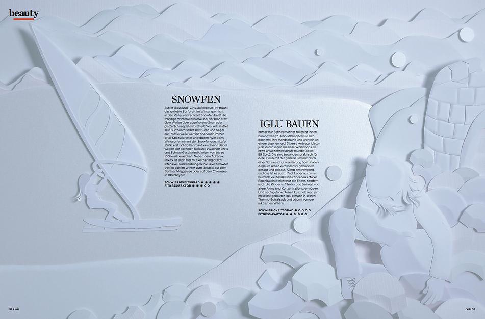 gala, schnee, Paperart, Papercut, paperwork, papercraft, mvmpapercuts, berlin, Papierillustratin, Papierkunst, Martha von Maydell, Wintersport
