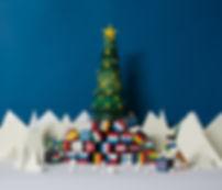 Weihnachten, Brexit,  Martha von Maydell, Papierkunst, Paperart, MVMpapercuts, Berlin