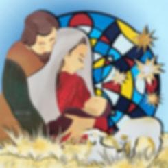 DieseIllustrationen erzählen dieWeihnachtsgeschichteineinem kleinenHeftchen welches die Organisation zu Weihnachtenverteilt hatte. Paperart, Papierkunst, Martha von Maydell, MVMpapercuts, Berlin