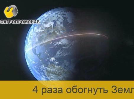 Отгруженного щебня хватит, чтобы обогнуть Земной шар 4 раза!