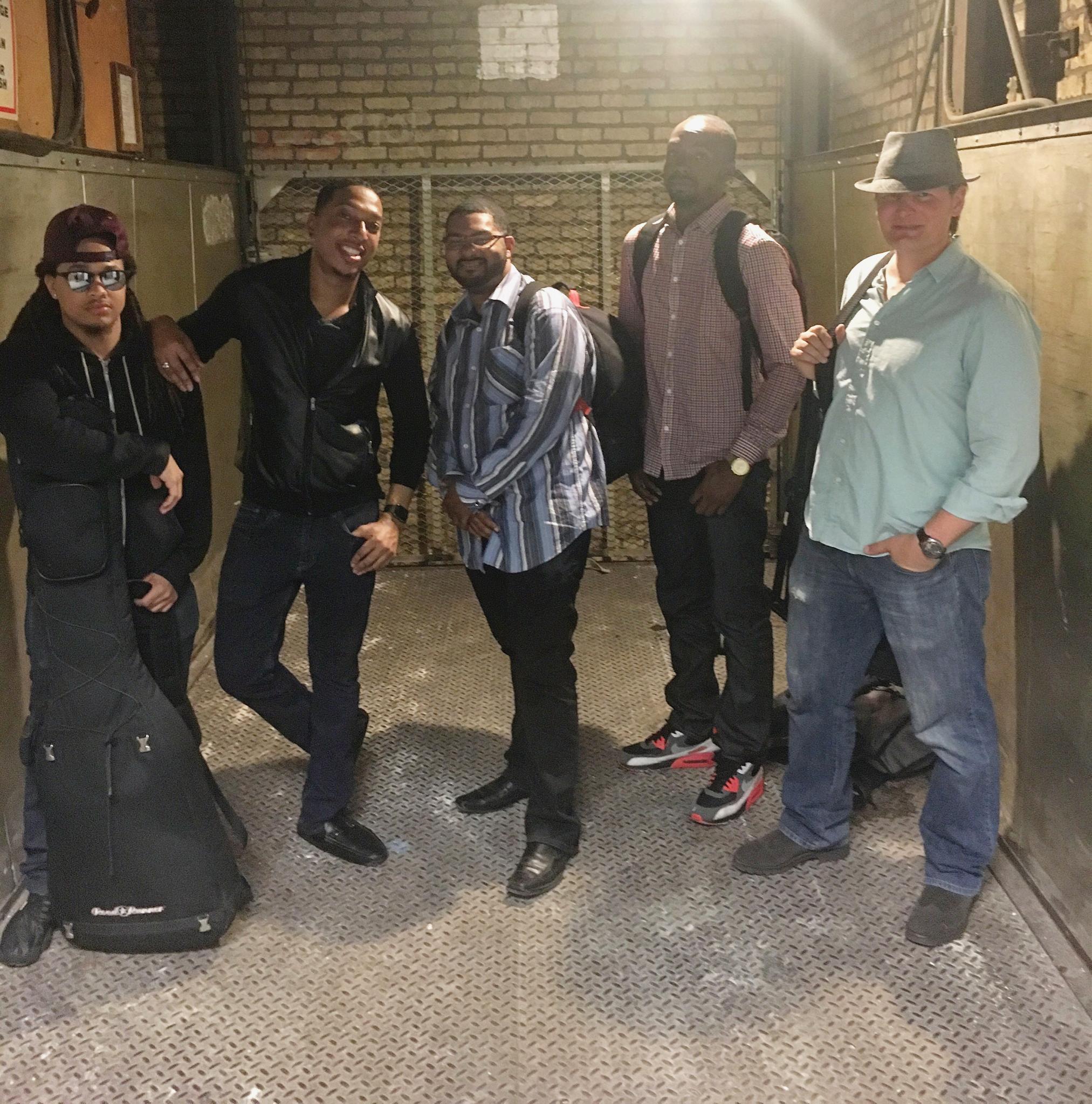 Brandon James and his band