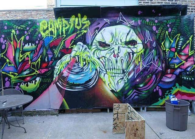 Mural by NERD at Camp/Us