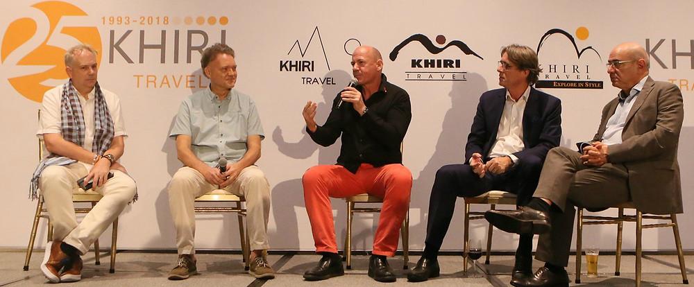 overtourism panellists Khiri Travel 25th anniversary
