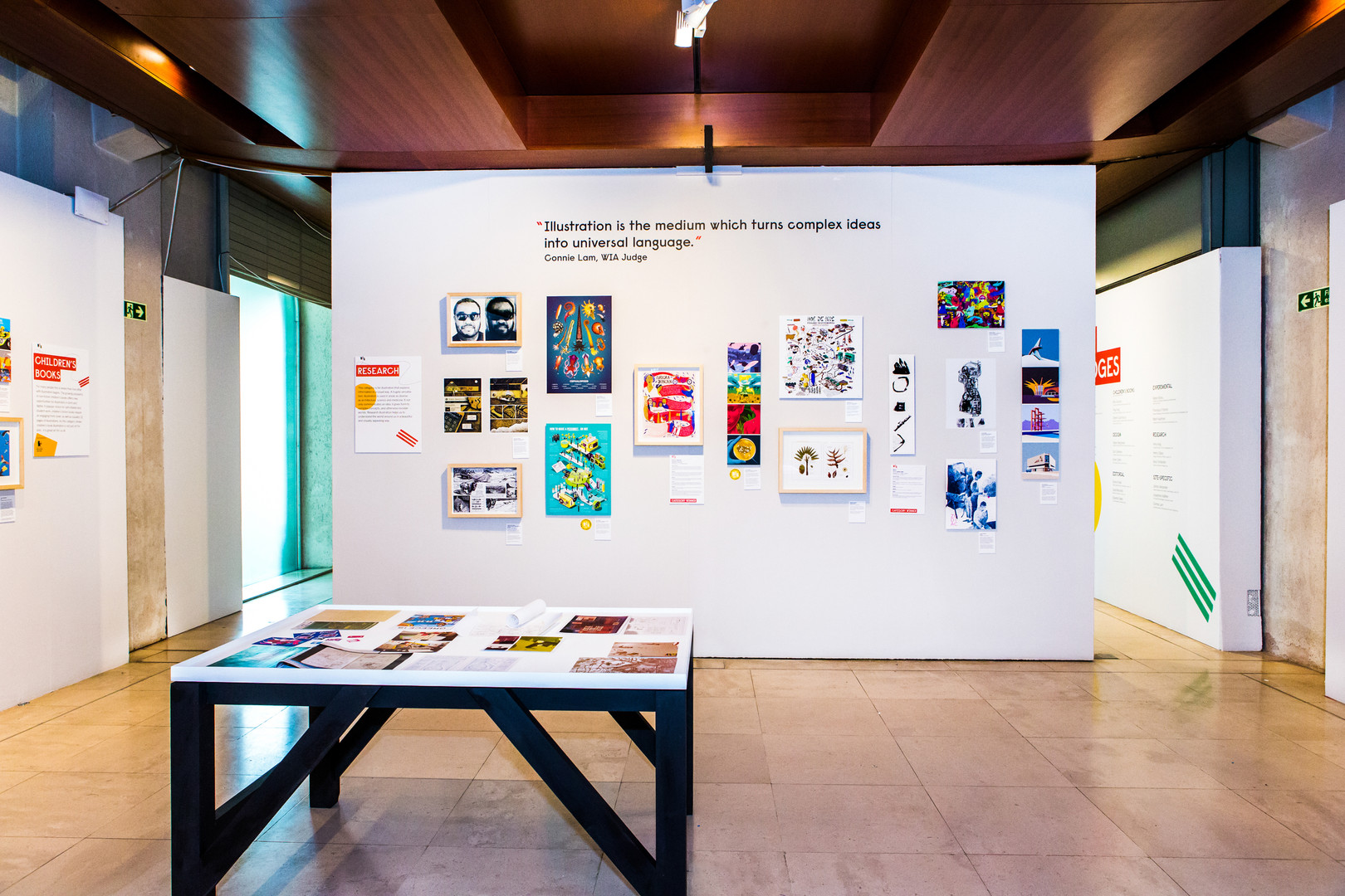 WIA19 install, photo credit Cristina Sch
