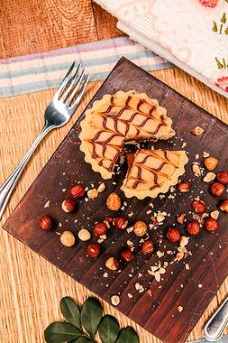 Tortinha de Ninho com Nutella
