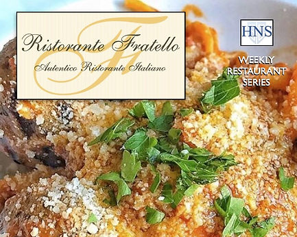 Weekly Restaurant Series - Ristorante Fratello