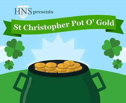 St Christopher Pot O' Gold