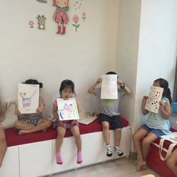 Drawing tiger after eeny meeny miny moe game #milkenglish #밀크잉글리쉬 #super simple learning